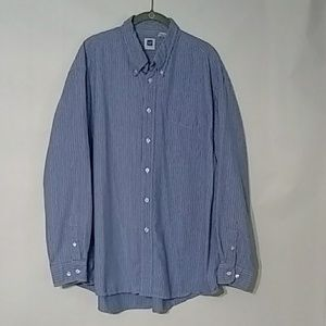 Gap XL Button down Long sleeve shirt Blue